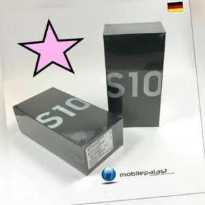 SAMSUNG GALAXY S10 128GB Dual Smartphone ohne Vertrag Händler OVP ...