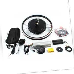 "48V 1000W 20"" Zoll E-Bike Conversion Kit Vorderrad Frontmotor Fahrrad Umbausatz"