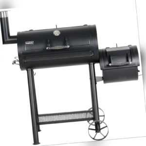 PRIMASTER Smoker Billy Grillfläche: 71 x 35,5 cm