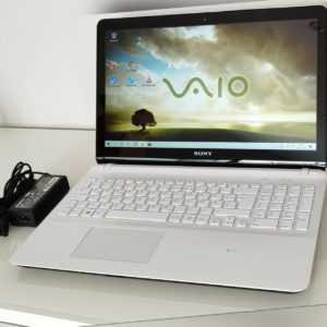 "Sony Vaio SVF15 Intel Core i5 3337U 8GB Ram 480GB SSD 15,6"" Touchscreen weiss"