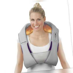 Massage Gerät Shiatsu Nacken Rücken elektrische vibration Wärmefunktion mit Gurt