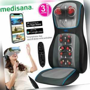 Virtual Reality Klopf & Rollen Rücken Massage Sitz Auflage Shiatsu Massagesessel