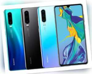 """Huawei P30 DualSim 128GB LTE Android Smartphone 6,47"""" OLED Display..."""