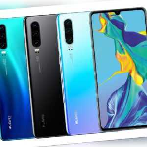 "Huawei P30 DualSim 128GB LTE Android Smartphone 6,47"" OLED Display..."