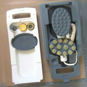 BIOCOMFORT Hobby MS21 Massagegerät Heizfunktion Vibration Massator+Zubehör+Box