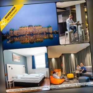 Städtereise Wien 4 Tage 2 Personen a&o Hotel Hotelgutschein Kurzreise Österreich