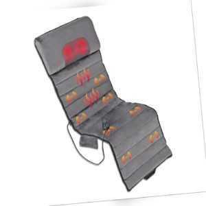 Shiatsu Massagesitzauflage Elektrisch Massagegerät Wärmefunktion Massagematte