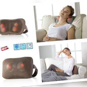 Shiatsu Massage Infrarot Rotlicht Wärmefunktion Massagegerät ideal Nacken Rücken