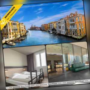Städtereise Venedig 3 Tage 2 Personen a&o Hotel Hotelgutschein Italien Kurzreise