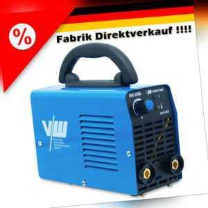 VECTOR Inverter Elektroden Schweißgerät Set ARC IGBT MMA 230V Welder 200a E-Hand