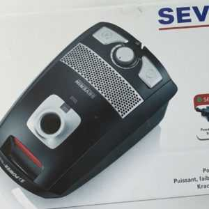 Severin S`Power Focus BC 7044 Staubsauger Kompakt Bodenstaubsauger 700 W HEPA