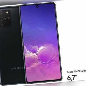 SAMSUNG Galaxy S10 Lite SM-G770F/DS 128GB Prism Black schwarz OVP...