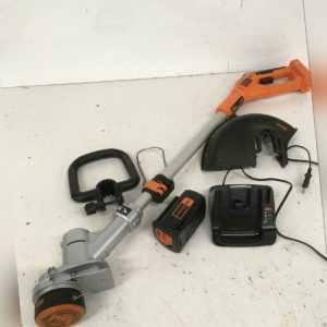 Black+Decker Akku-Rasentrimmer (36V 2,0Ah, Schnittbreite 30 cm, E-Drive Technolo