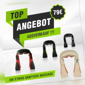 Donnerberg Nackenstark Massagegerät Nackenmassagegerät Shiatsu TOP ANGEBOT !