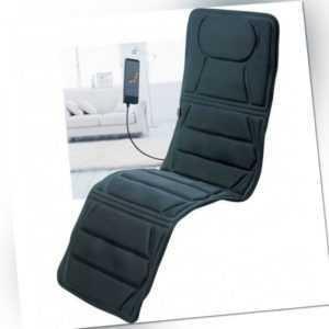 Luxus Massagematte Sitzauflage Massageliege mit Wärmefunktion inkl.Tragetasche