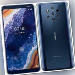 "Nokia 9 PureView 6GB 128GB 5.99"" 5x 12 MP NFC Qi Snapdragon 845..."