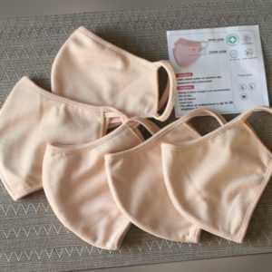 5 Stk Mundschutz Maske,Gesichtsmaske Atemschutz,Schutzmaske, Baumwolle,waschbar