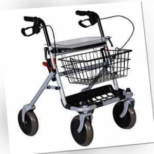 Rollator klappbar mit Sitz Wagen für ältere Menschen, aus Stahl RO7