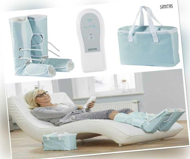 Fußmassagegerät SANITAS SFM 90 Venen Massagegerät Kompressionsmassage Fuß Neu