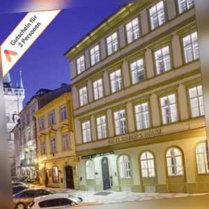 Kurzreise Prag 3- 4 Tage Design Hotel Gutschein zentral für 2 Personen Frühstück