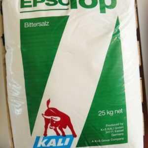 Epso Top Bittersalz 25 kg Tannendünger Blattdünger Koniferendünger Magnesium