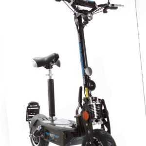 SXT-Scooters Elektro-Scooter E-scooter SXT500 EEC schwarz 36V 30Ah 20 km/h
