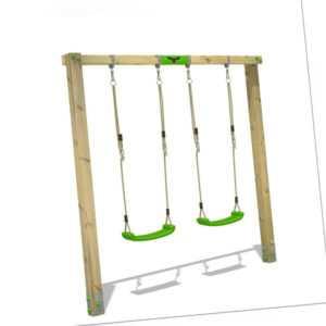 Schaukel Schaukelgerüst Schaukelgestell aus Holz - FATMOOSE JollyJane Wave XXL