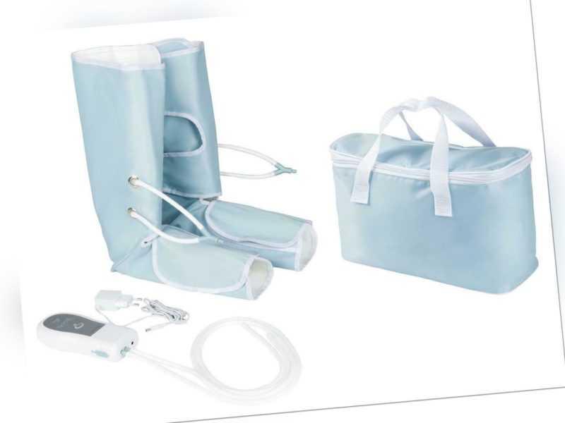 Venen-Massagegerät 2 Beinmanschetten Klettverschluss SANITAS B-Ware Aussteller