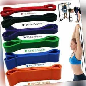 Fitnessbänder Resistance Band Klimmzugband Widerstandsband Yoga Latex Bänder .