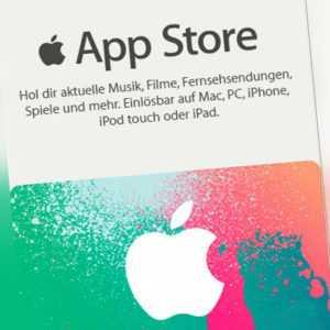 iTunes 50€ EUR Guthaben Karte 50 Euro Apple Store Gutschein Key - DE
