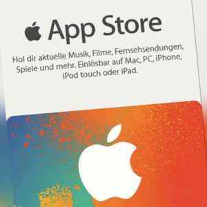 iTunes 25€ EUR Gutschein Key 25 Euro Apple Guthaben Code f.Deutsches Konto - DE*