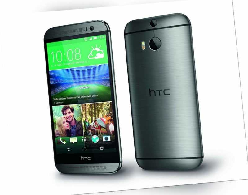 HTC One M8 16GB Android Smartphone grau - Guter Zustand!