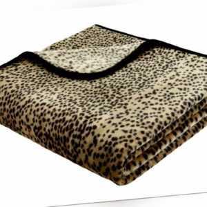Bocasa Wohndecke Simply Luxury, Dessin Schneeleopard ,