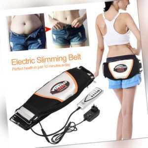 Vibration Anti-Cellulite Massagegerät Bauchgürtel Fettverbrennung Bauchweggürtel