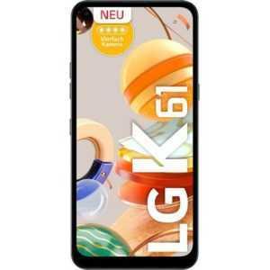 LG K61 titansilber 4GB RAM 128GB Android Smartphone Handy ohne...
