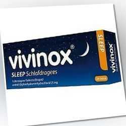 VIVINOX SLEEP SCHLAFDRAG Tabletten 20 St PZN:04132483
