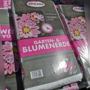 Emsland Blumenerde Mit Guano Pflanzenerde Gartenerde 1x40L