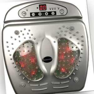 Fuss Massagegerät, Fußreflexzonenmassage mit Infrarotwärme, Foot Massager,