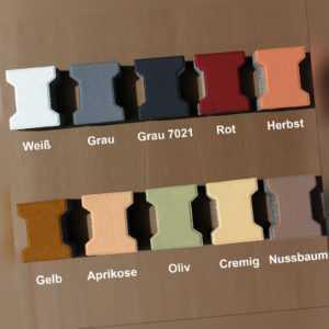 Betonfarben (1 L) Acrylsilikon für Beton Putz Gips /auch für Nassbereich