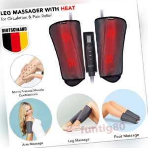 Elektrische Luftkompression Wärme Therapie Füße Beine Arm Stimulate Massagegerät