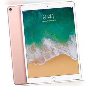 "Apple iPad Pro A1709 Wi-Fi + Cellular 10"" 64GB 120Hz Rosé Gold A10X Fusion OVP"
