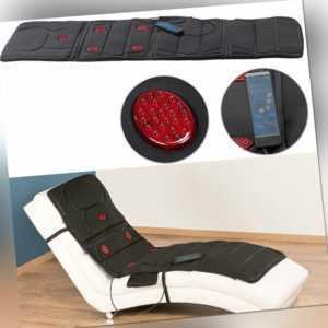 Ganzkörper-Vibrations-Massageauflage mit IR-Tiefenwärme, 5 Programme