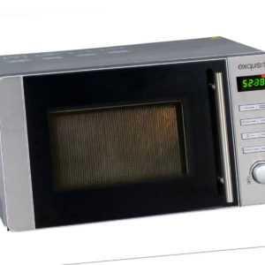Exquisit MW8020H Mikrowelle Freistehend Silber Neu