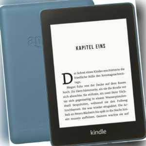 Amazon Kindle Paperwhite (10 Generation Touch 8GB WLAN WiFi Tablet Reader blau)