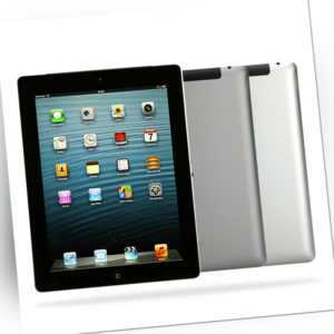 Apple iPad 4 / 16GB 32GB 64GB 128GB WiFi + Cellular 4G / Schwarz Weiß / Händler