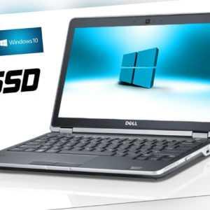 + SSD DELL NOTEBOOK  LATITUDE E6230  12,5 CORE i5-i5 2520M  2.6GHZ 8GB  WIN10