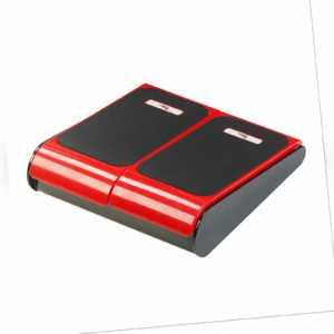 Massageplatte für die Füße, Vibrationsplatte mit 10 Massage-Stufen, Wellness