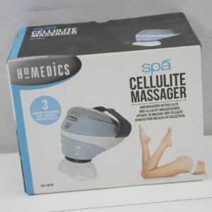 HoMedics Klopfmassage mit Wärme, Vermindert Cellulite, 3 Massageaufsätze