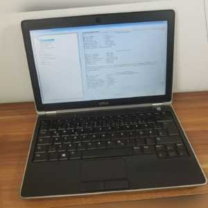 "12,5"" Mini Business Notebook Dell Latitude i5 2.6GHz 4GB Wlan BT HD Display"