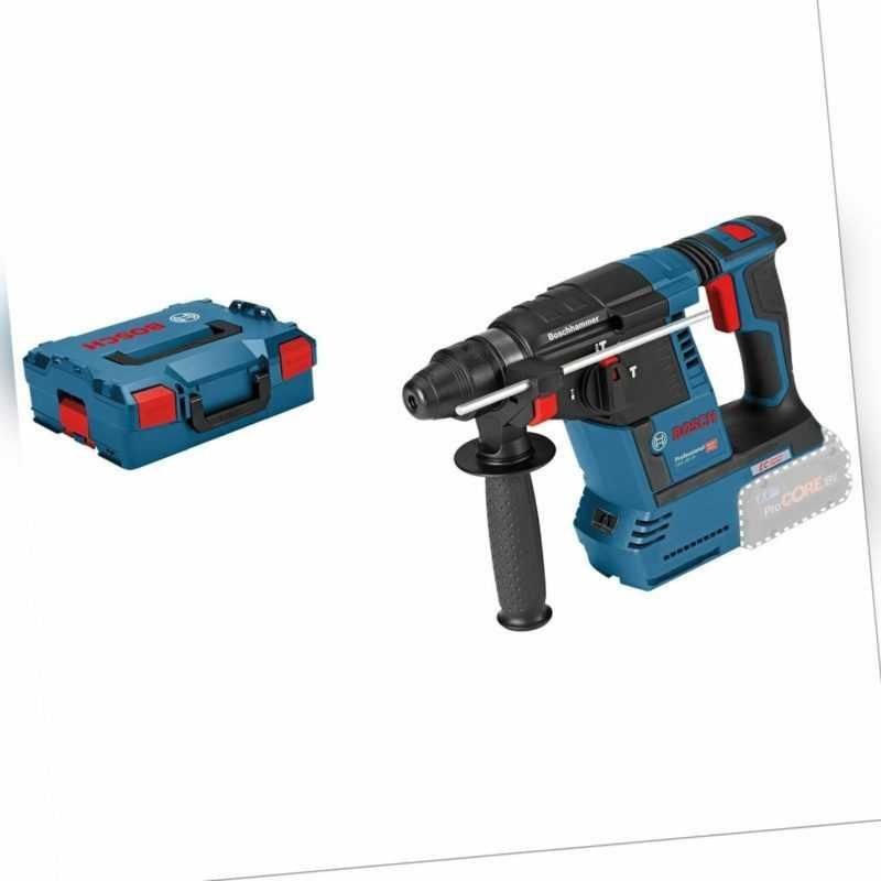 Bosch Akku-Bohrhammer GBH 18V-26 mit SDS plus 18 V Solo in L-Boxx - 0611909001